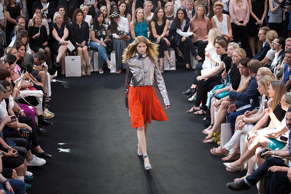 Dorothee Schumacher gehört zu den Säulen der Berliner Modewoche.