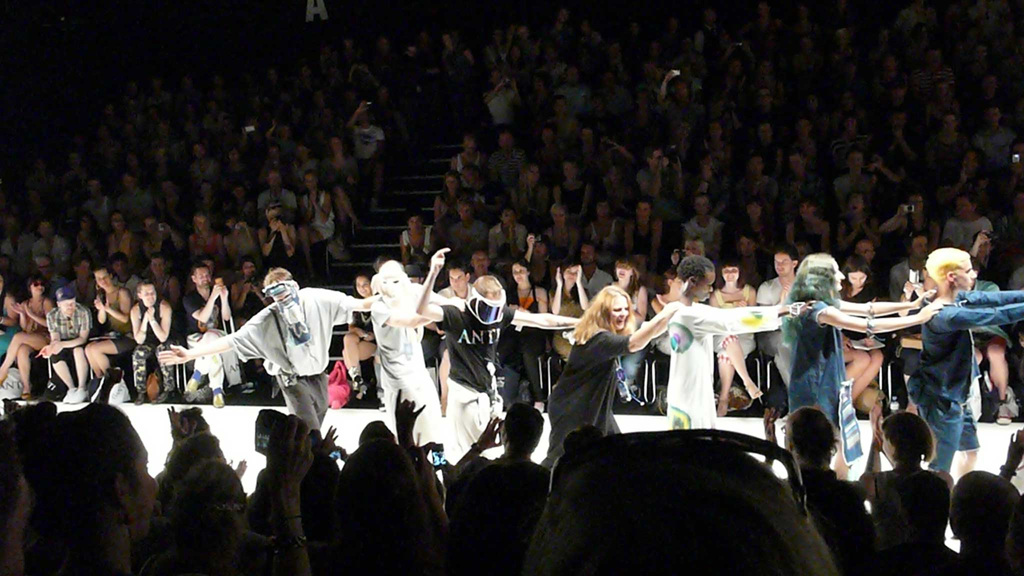 Zum Abschluss der Fashion Week zeigte Starstyling eine Schau mit viel Humor.