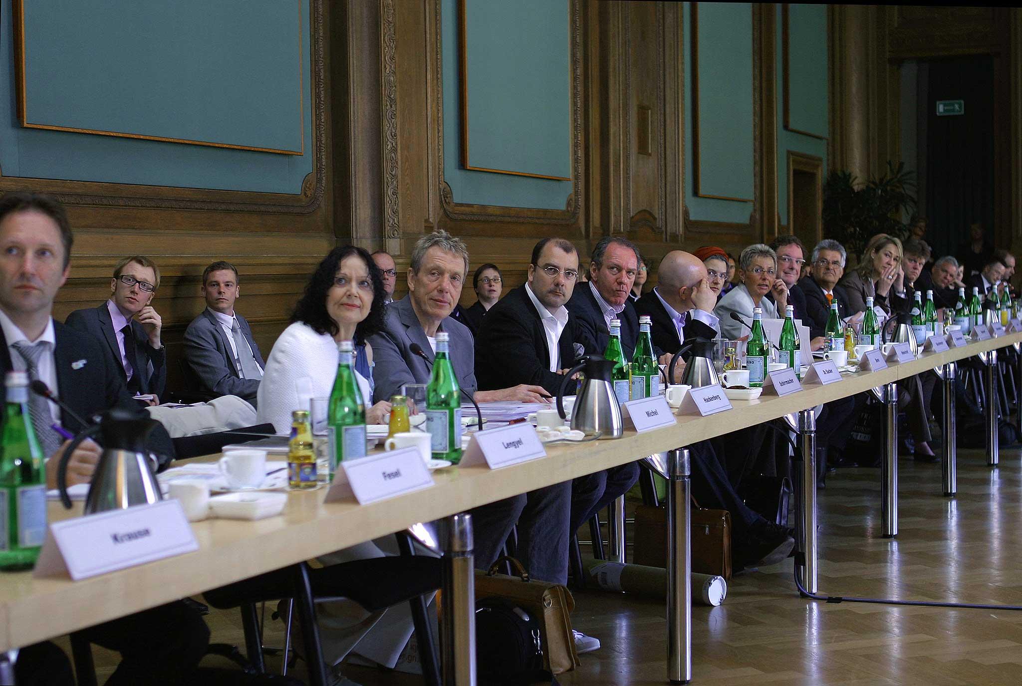 Auftaktveranstaltung der Initiative Kultur- & Kreativwirtschaft der deutschen Bundesregierung, 7. Mai 2008