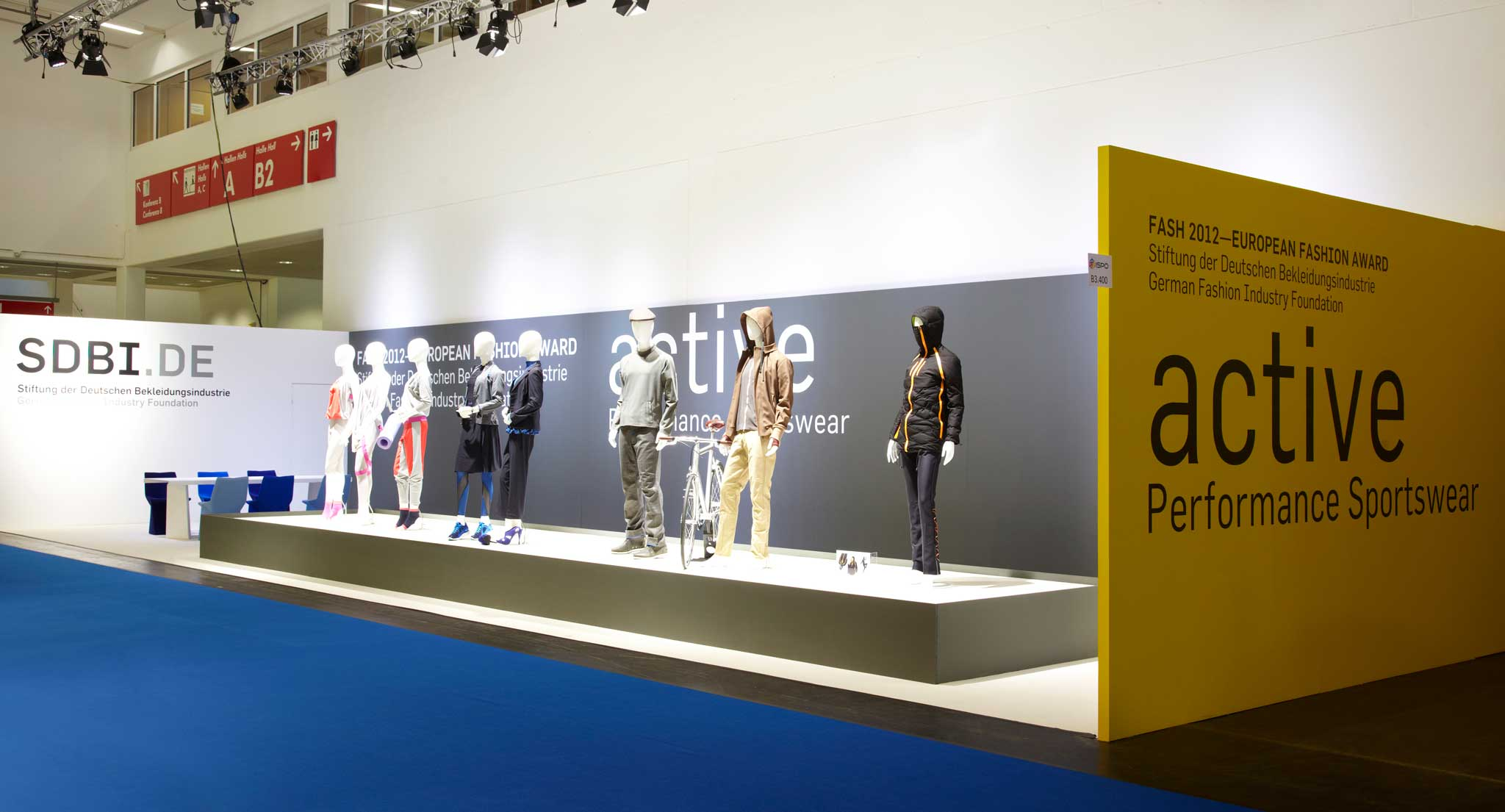 Stand auf der ISPO MUNICH in der Halle Sport Styles.