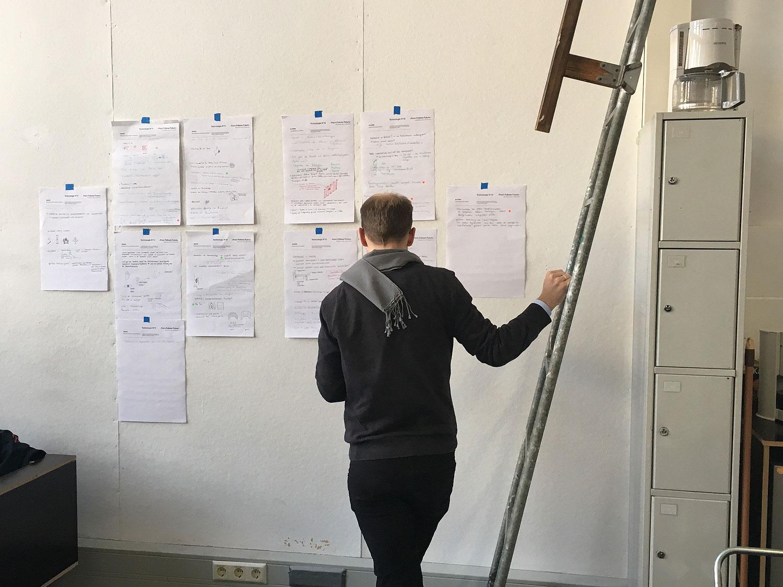 Jede Idee wurde im UdK-Workshop von jedem Teilnehmer bewertet.© Joachim Schirrmacher