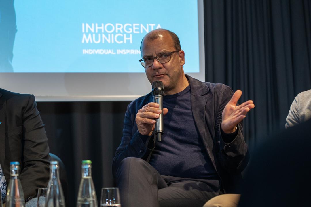 Joachim Schirrmacher, Teilnehmer der Podiumsdiskussion der Inhorgenta Trendfactory in Luzern
