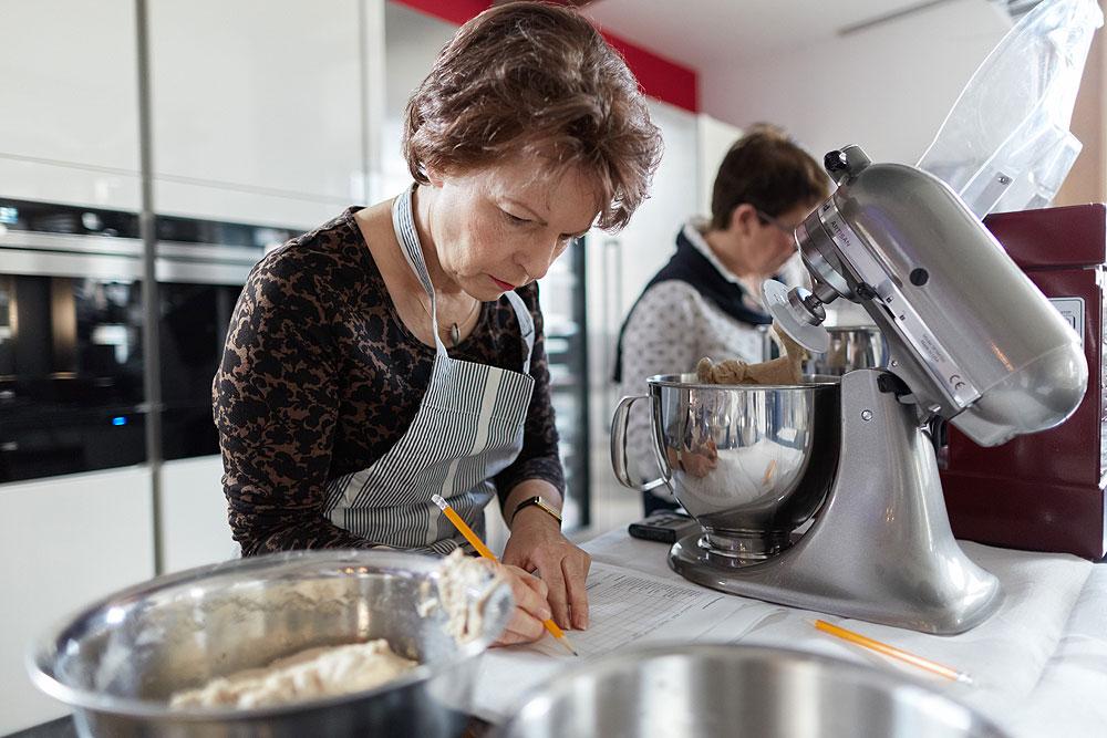 Das Knetergebnis der Kitchenaid war deutlich schlechter als bei den meisten anderen Küchenmaschinen. Foto: © Bernhard Ludewig