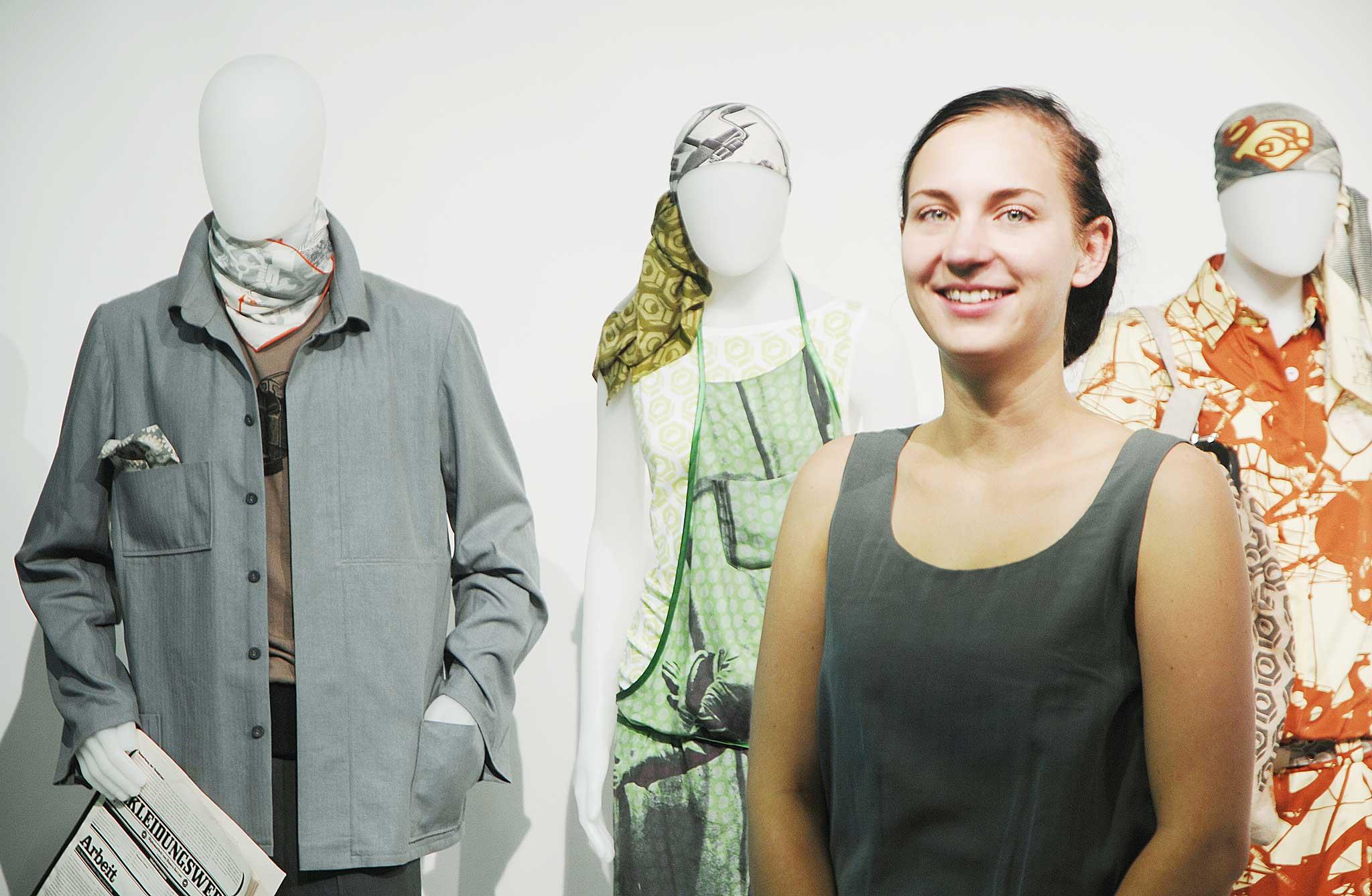 Stellvertretend stellte die SDBI die Arbeit von Bianca Koczan den 38.000 Besuchern vor.