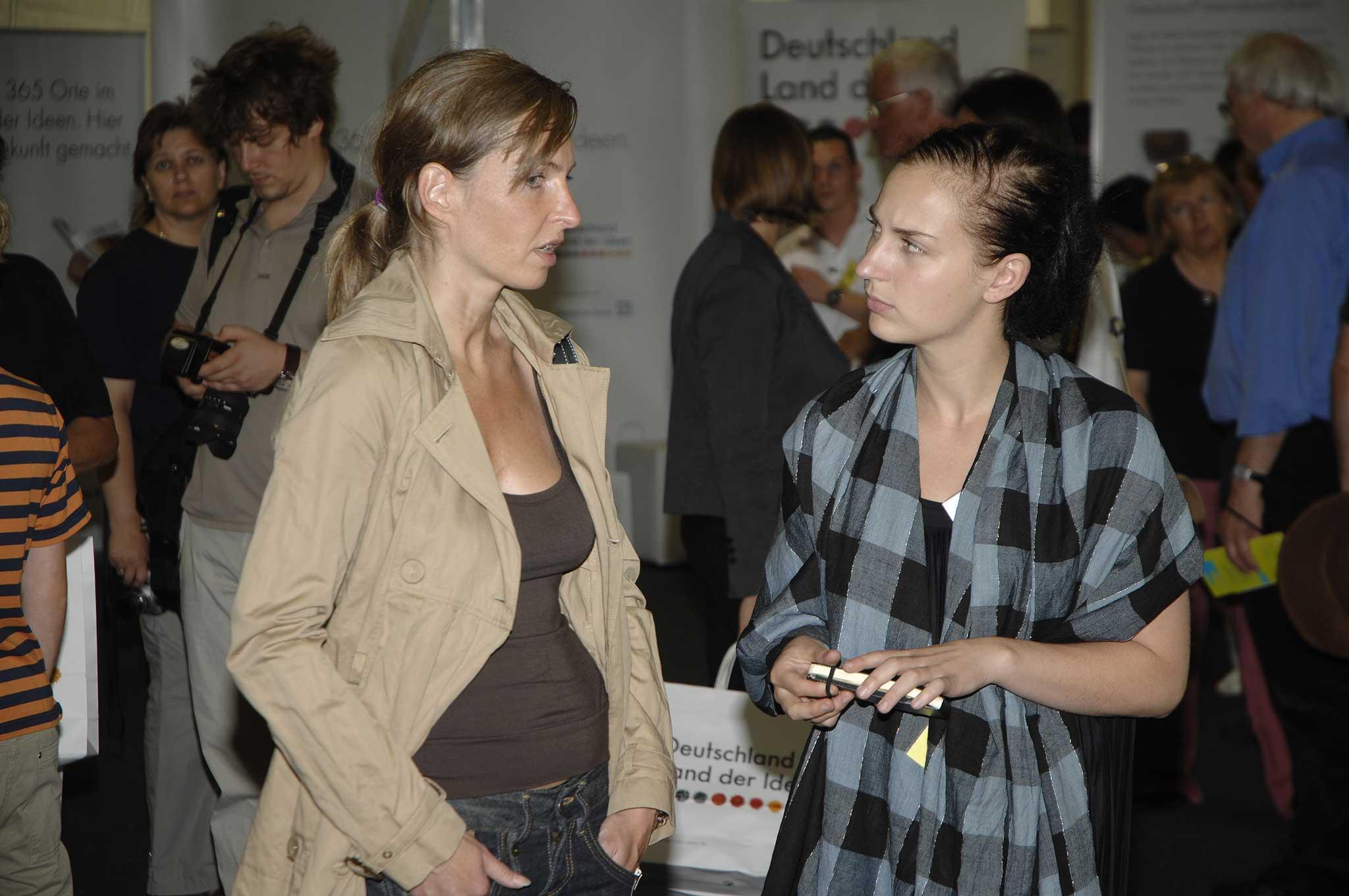 Zu den Gästen gehörte auch Tanja Mühlhans, Referentin für Kreativwirtschaft beim Berliner Senat.